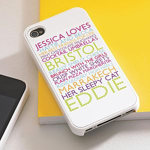Personalised Case For Iphone - gifts under £25 for her