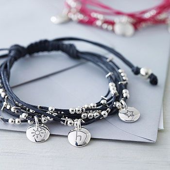 Personalised Story Friendship Bracelet Oct