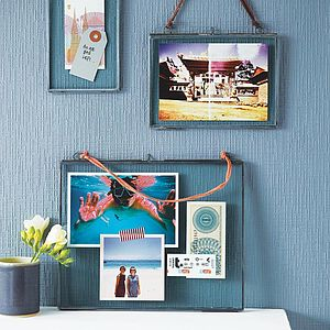 Kiko Frame Zinc Pack Of Two - less ordinary wall art