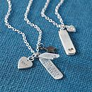 Personalised Hidden Message Locket