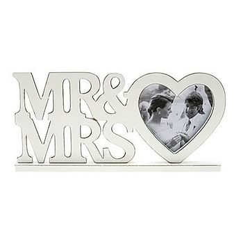 'Mr And Mrs' Wedding Photo Frame