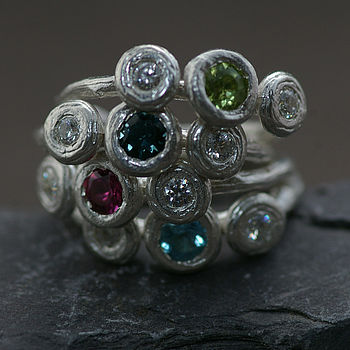 Choice Of Four Gemstone Rings