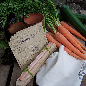 Vegetable Grower's Gift Bag - garden & outdoors