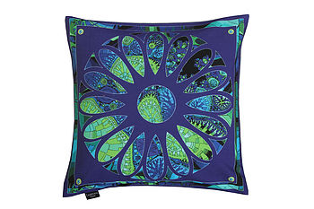 Botantic Indigo Cushion