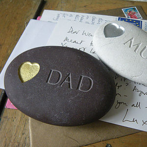 Personalised Love Stone - gifts for children to give