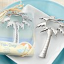 'Palm Breeze' Chrome Bottle Opener