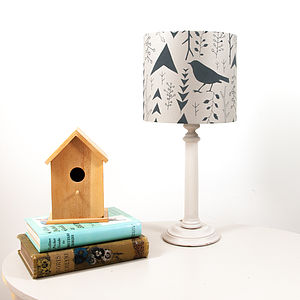Woodland Handprinted Lampshade - sale by category