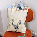 Stag Shopper Bag