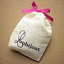 Loubijoux gift pouch