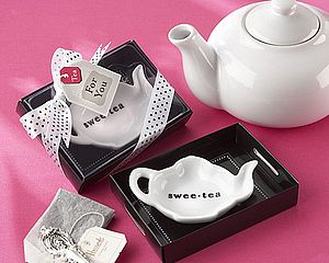 """Swee Tea"" Ceramic Tea Bag Caddy - kitchen"