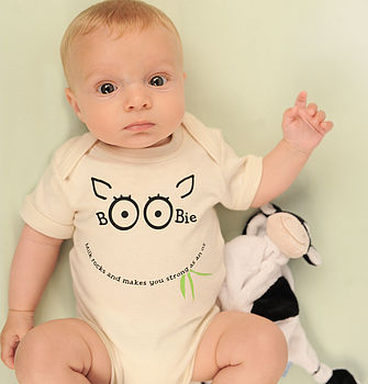 'Boobie Milk' Breastfeeding Gift