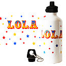 Personalised Circus Water Bottle
