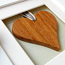 If You Choose To Add Glazing The Heart Will Be Set Back Slightly