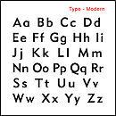 Type - Modern
