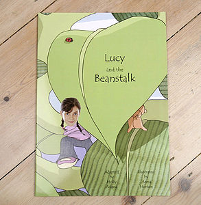 Personalised Photo Beanstalk Adventure Book - toys & games