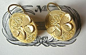 Coin Hook Earrings