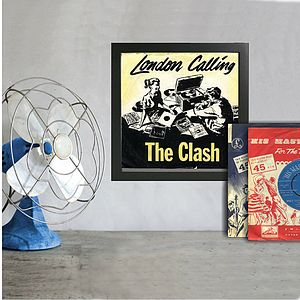 Framed 45rpm Record Covers Singles - picture frames