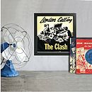 Framed 45rpm Record Covers Singles