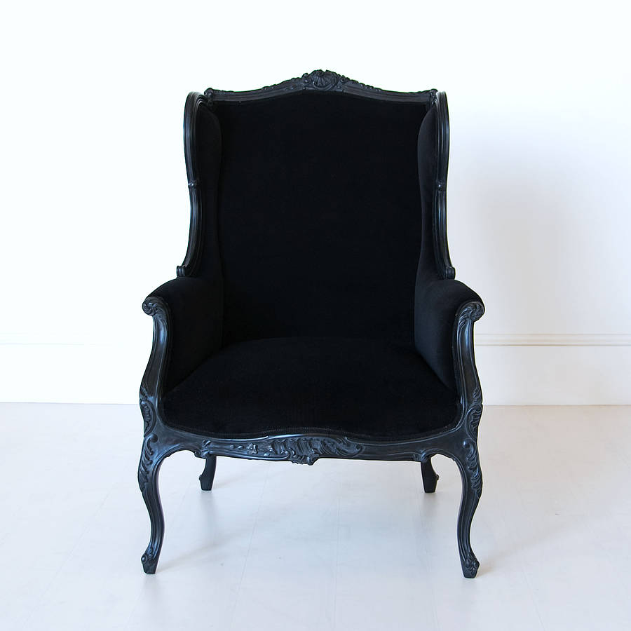 black french wingback chair by out there interiors