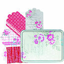 Set Of 24 Gift Tags In Tin