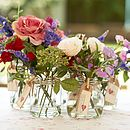 Rose And Sweet Peas Posy Bouquet