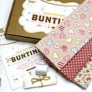 Bunting Kit - Girls Pink Hearts and Pink Spot
