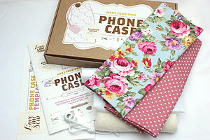 Make Your Own Phone Case Kit - sewing kits