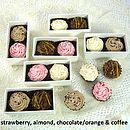 Five Cupcake Shaped Chocolate Favours Kit