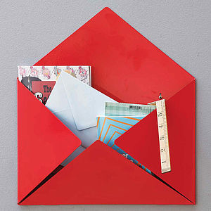 Metal Envelope Mail Box Tidy - style-savvy
