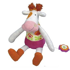 Anemone The Musical Cow Toy - toys & games