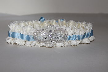 2014 Collection Sophie Something Blue Garter