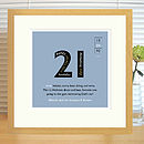 Personalised Landmark Birthday Print
