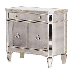 Venetian Mirrored Cabinet - furniture