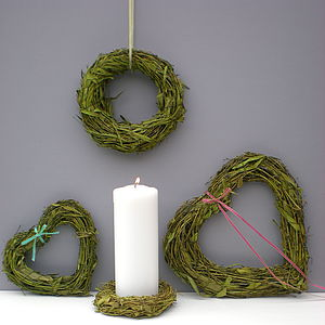 Bamboo Wreaths - lighting