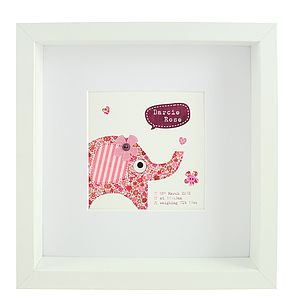 Personalised Baby Print - children's pictures & paintings
