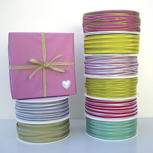 Ribbon With Coloured Edge - shop by category