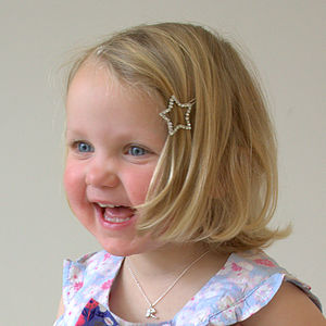 Tinkerbell Silver Necklace - children's jewellery