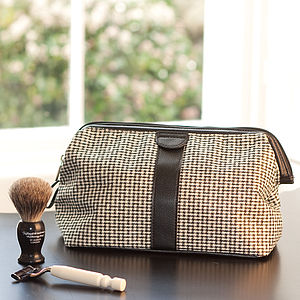 Patterned Wash Bag - wash & toiletry bags