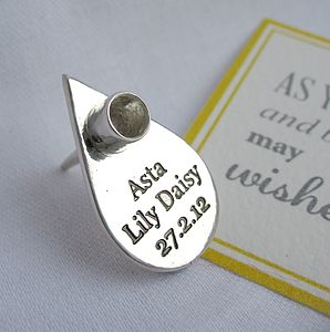 Personalised Teardrop Birthday Candle Holder - little party extras
