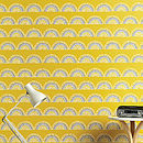 Horseshoe Arch In Yellow Wallpaper
