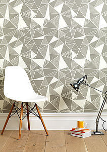 Tress In Grey Wallpaper - home decorating