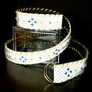 Cross Stitch Belt Sash Or Bag Strap
