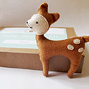 Make Your Own Deer Softie Toy Sewing Kit