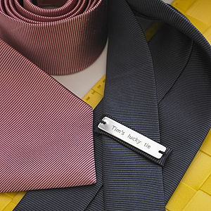 Personalised Men's Tie - personalised gifts for fathers