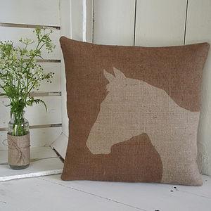 ' Rustic Horse ' Cushion
