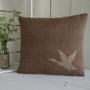 ' Rustic Duck ' Cushion - living room