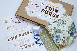 Make Your Own Coin Purse Kit