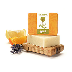 Lavender Grapefruit And Orange Soap - bathroom
