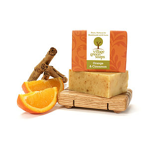 Orange And Cinnamon Soap - bath & body