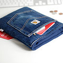 Handmade Upcycled Jeans Case For IPad